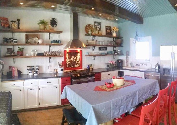 Old Farmhouse Kitchen Remodel