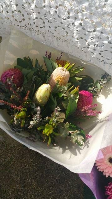 Mixed Native Bouquet   Price: $40.00 excluding delivery.