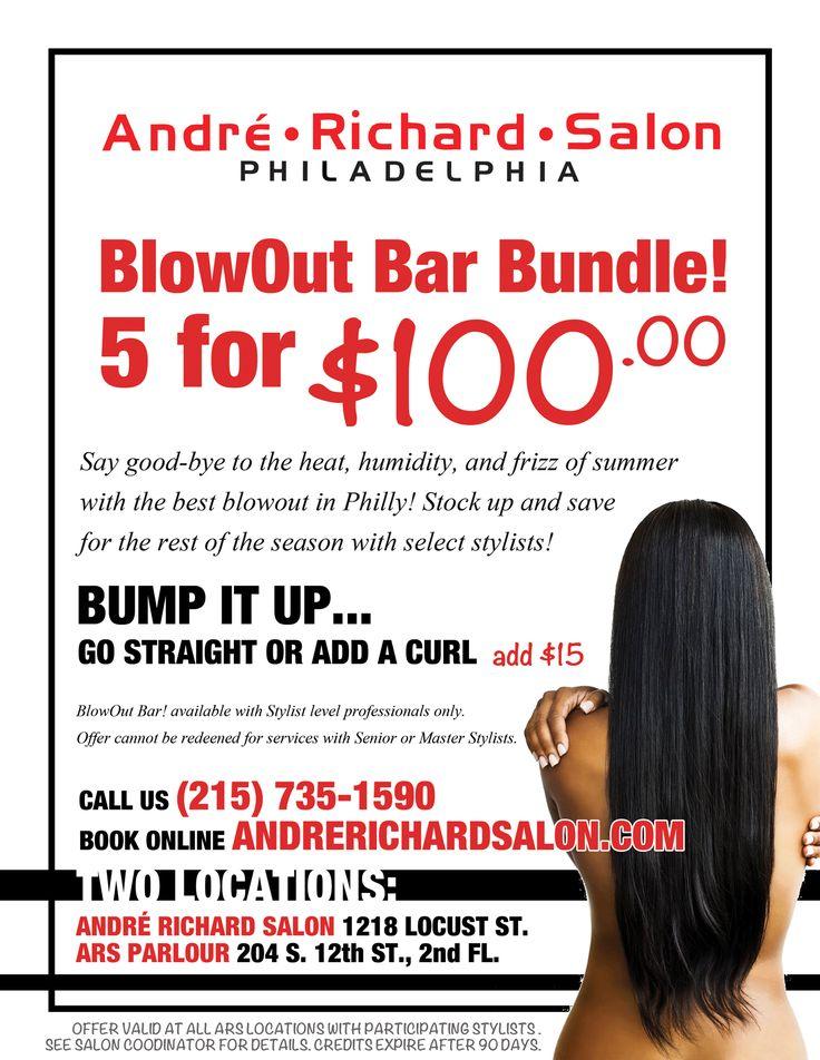Save With The Blowout Bar Bundle Blow Out Bar Salon Promotions Blowout