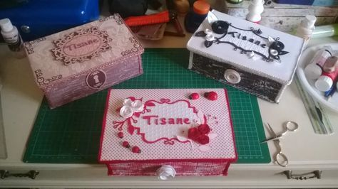 Chichi's Scrap: Tutorial: Come nasce una tisaniera!