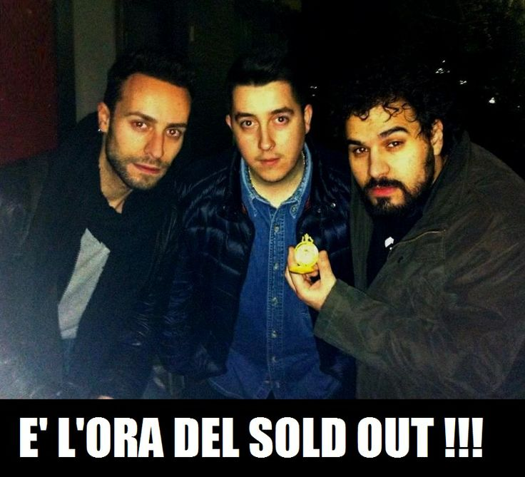 Sold Out Time