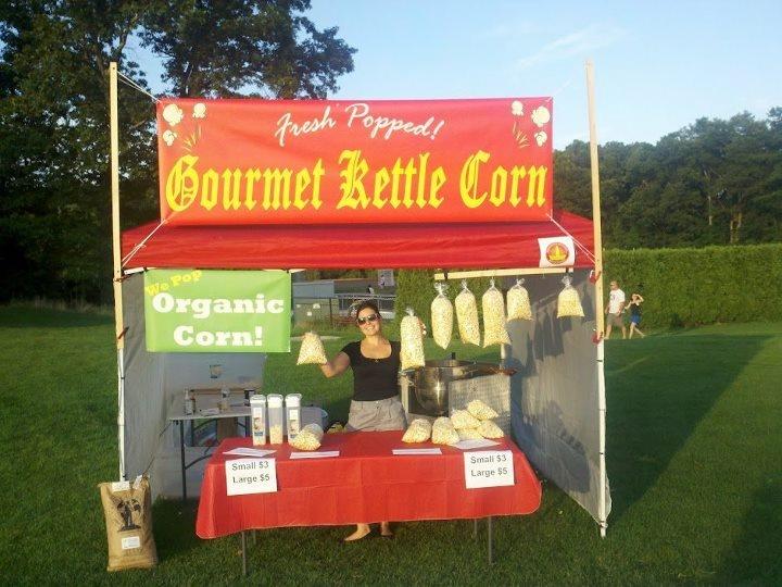 mann kettle corn machine