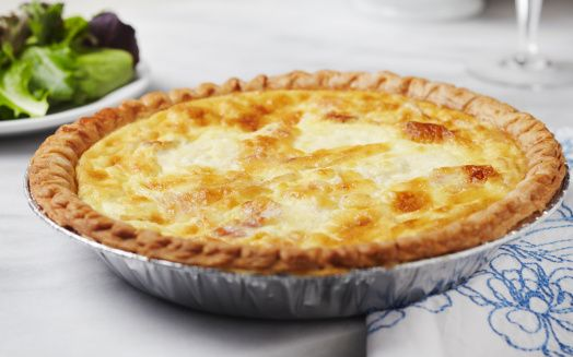 This crab quiche recipe tastes best when you use backfin lump crab meat or good-quality canned crab meat.