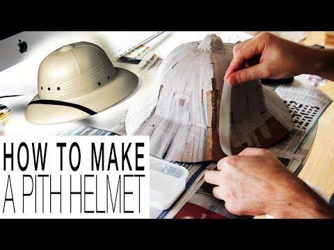 b814d85d945f8 DIY - Pith Helmet   Sombrero de explorador o salacot (templates  included plantillas incluídas