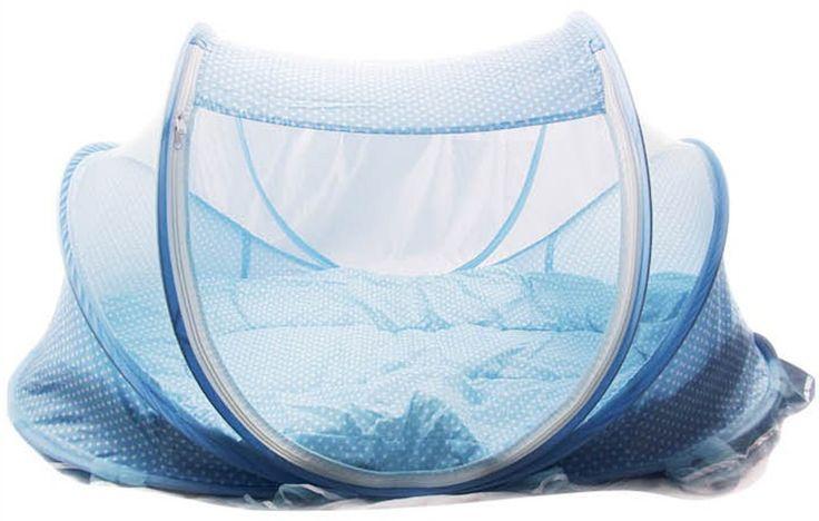 Folding Baby Crib 0-3 Years Baby Bedding Mosquito Net Portable Foldable Baby Bed Crib Mosquito Netting Cotton Sleep Travel Bed