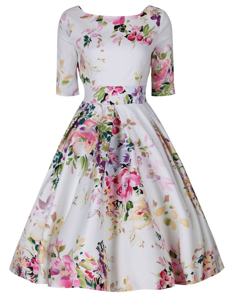 Vintage clothing collections including Fifties Dresses, the Swing Dress, Floral Tea Dress and more vintage fashion dresses in the UK.