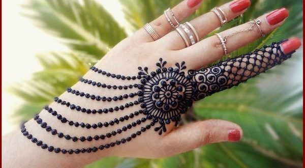 henna mehndi design simple and beautiful 2018