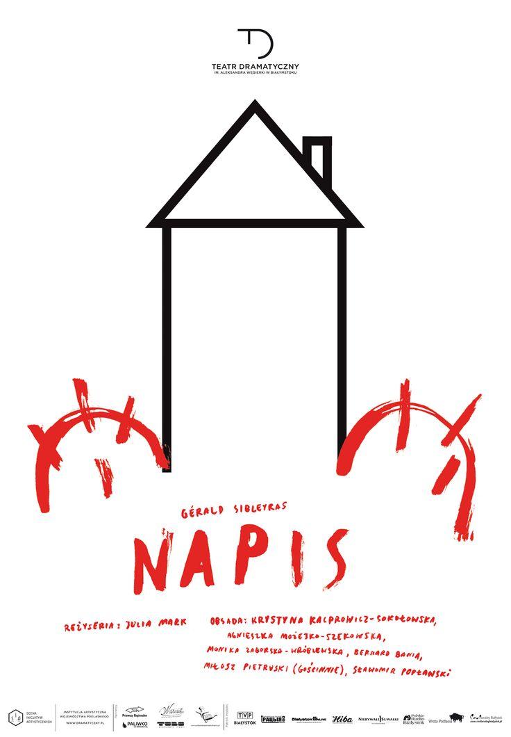 """Napis"", Gérald Sibleyras, reżyseria: Julia Mark, premiera: 19 marca 2016 r."