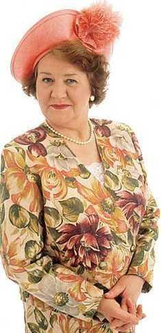 Hyacinth Bucket -I may be as high maintenance as her. As long as I have a man like Richard, I'm fine.