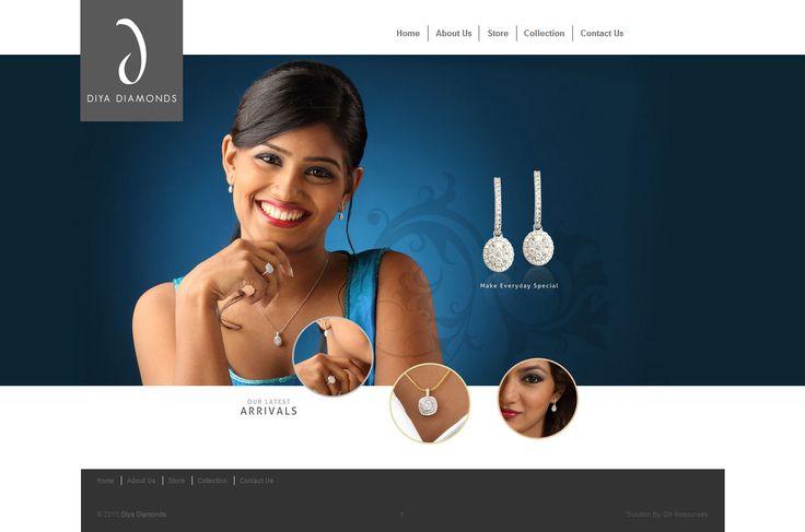 Diya Diamonds Website
