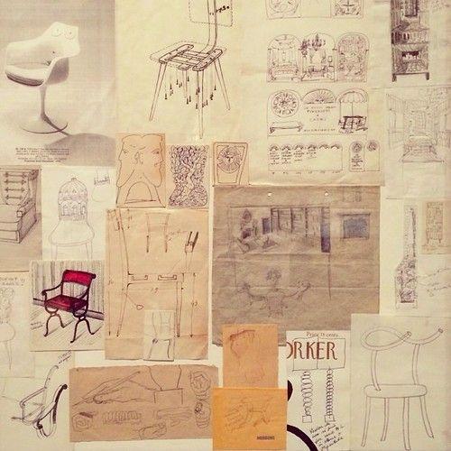#PieroFornasetti ↬ @Francesco Franchi http://j.mp/1d33Y2A #designer #madeinitaly #firniture #memories #archive #archivio #archivista