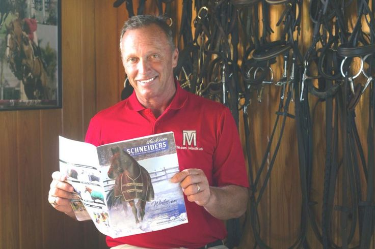 Todd Minikus and Schneiders Tack Create a Winning Team #eliteequestrian elite equestrian magazine