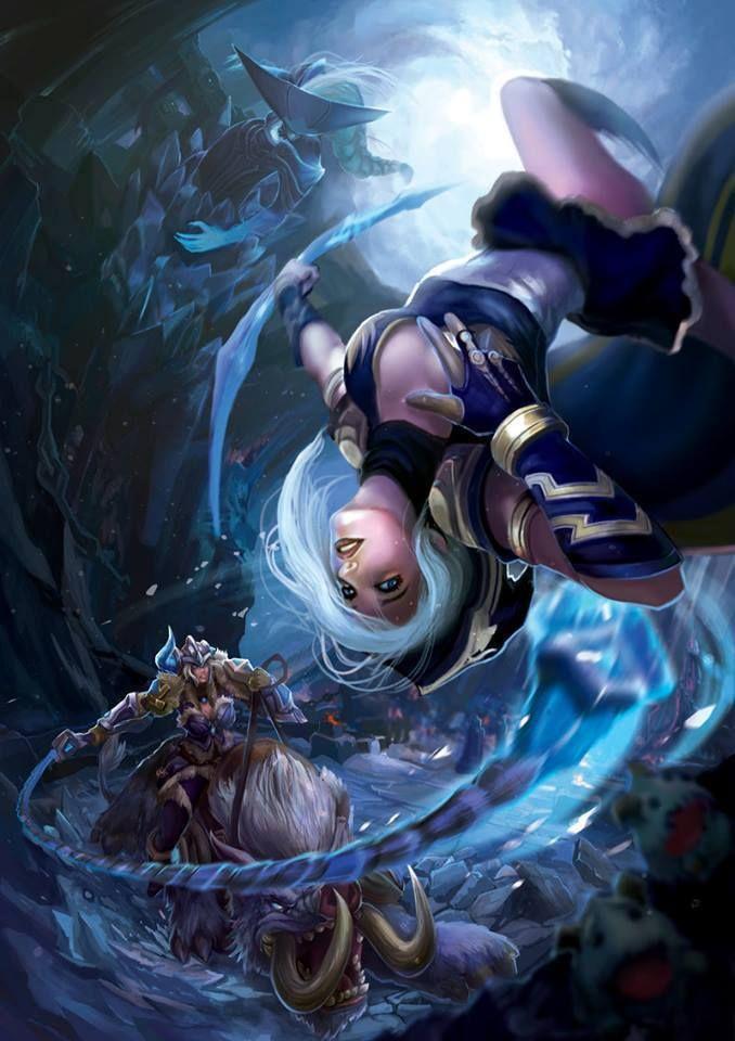Los mejores FAN-ARTS de League of Legends (Femeninos)