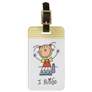 If you love playing bingo and love stick figures, you'll get a kick out of these cute stick figure I Bingo T-shirts, mugs, hoodies, cards, stickers, tote bags, magnets, keychains, and other bingo design apparel and gifts. #bingo #love #bingo #gaming #gambling #stick #figures #cute #cartoon #peacockcards #stick people