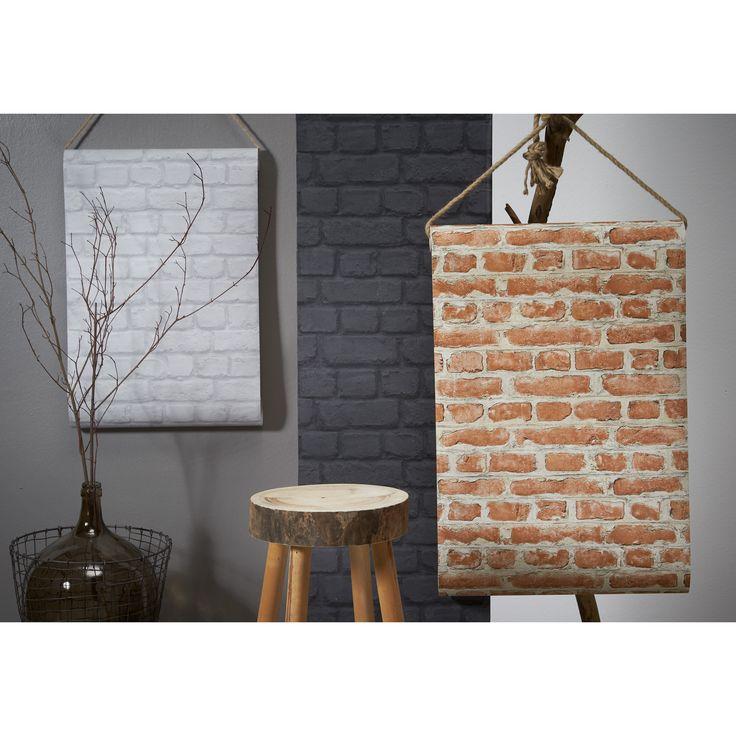 Mag jouw interieur wel wat ruiger zijn? Leg dan eens het accent op je muren met dit stoere behang!
