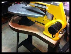 dewalt scroll saw. scrollsaw workshop: dewalt scroll saw diy utility table from charles stopczynski dewalt