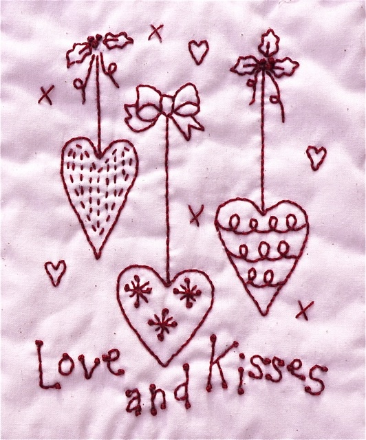 Images about embroidery valentine on pinterest