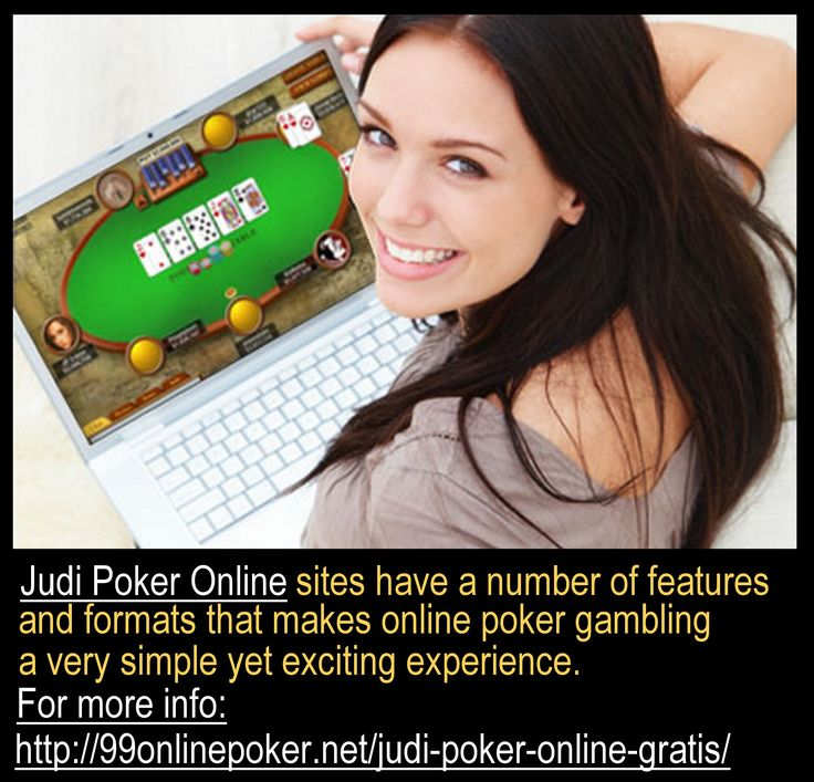 The best way is by playing online as they offer better odds to people to win than what the real world casinos have to offer to people.Judi poker online are fun, thrilling and exciting and one can find every casino games that you can think about. For More Information about judi poker online, please check http://99onlinepoker.net/judi-poker-online-gratis/