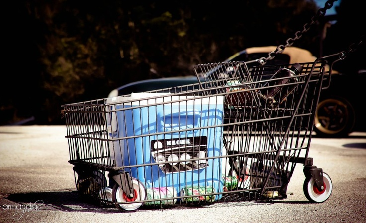 how to go grocery shopping with a stroller