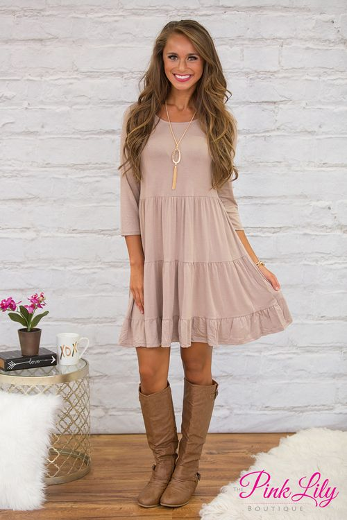 Once this adorable dress has crossed your mind once, you won't forget it!