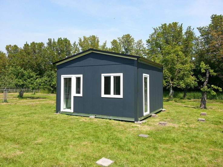 Das woning. Finish smart housing concept. prefab module bouw