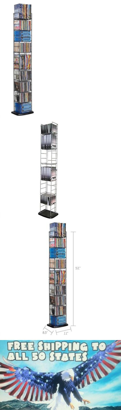 CD and Video Racks 22653: Cd Tower Dvd Blu-Ray Disc Media Folding Rack Storage Holder Organizer Wall Stand -> BUY IT NOW ONLY: $37.58 on eBay!