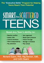 Smart but Scattered Teens : The Executive Skills Program for Helping Teens Reach Their Potential by Richard Guare, Peg Dawson, and Colin Guare. Find this book in NSW public libraries: http://trove.nla.gov.au/version/186418765