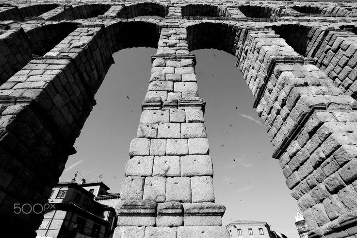 Arches of Segóvia - Segóvia, Espanha