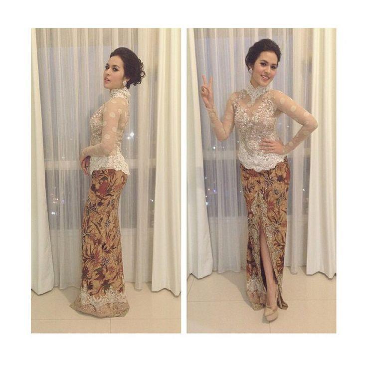 Lovee this soft #kebaya #indonesia