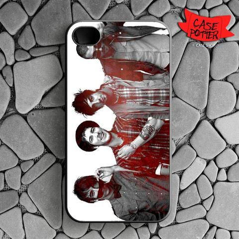 All Time Low iPhone 4 iPhone 4S Black Case