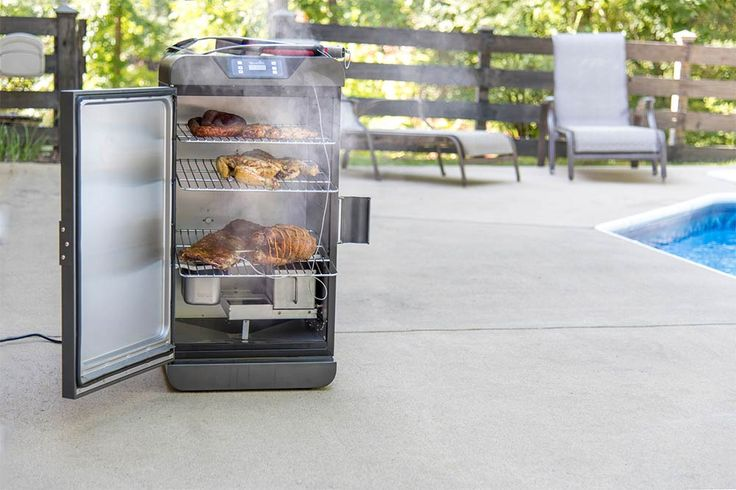 How To Clean A Digital Electric Smoker Digital Electric