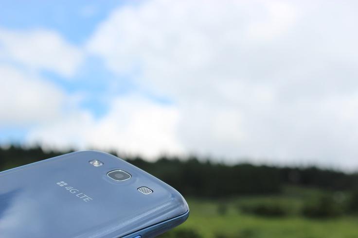 파란 하늘 아래 4G LTE