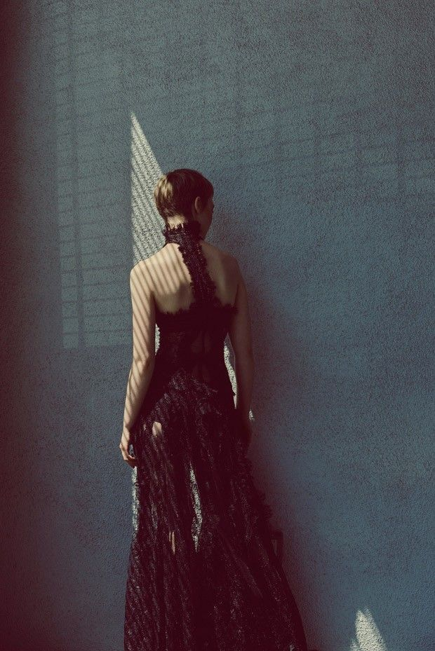 Mia Wasikowska by Carlos Serrao for Flaunt Magazine - Alexander McQueen Fall 2015