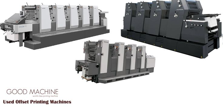 Buy Second Hand Offset Printing Machines from europe Goodmachine is biggest supplier of all type of printing pres machine. if you are buying any printing machine, visit our website www.goodmacine.eu