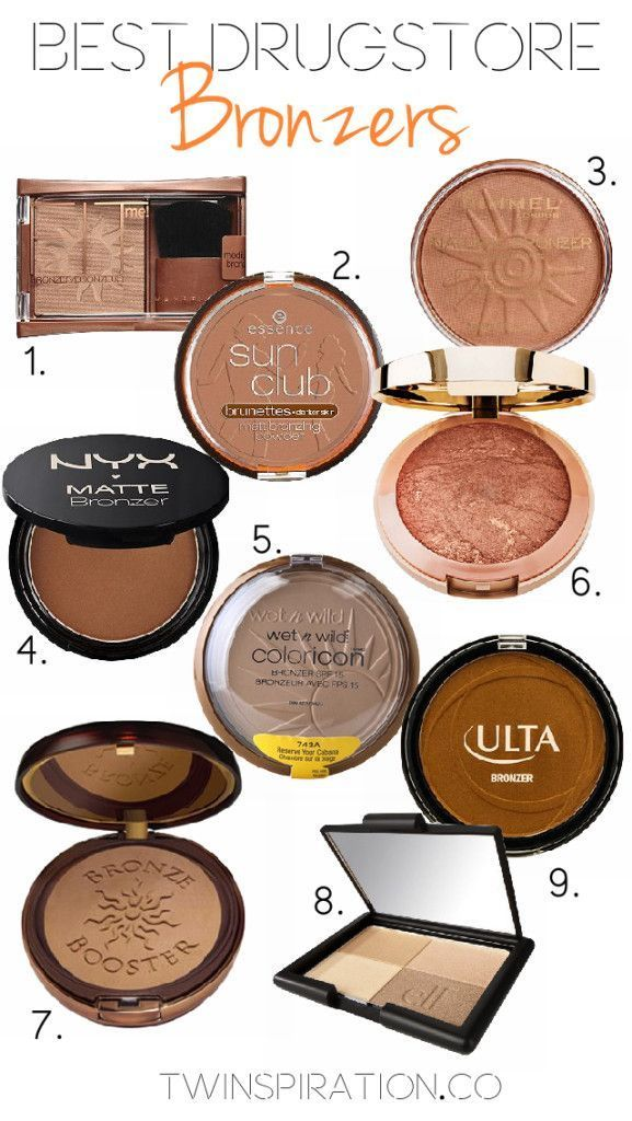 Best Drugstore Bronzers by Twinspiration at http://twinspiration.co/best-drugstore-bronzers/