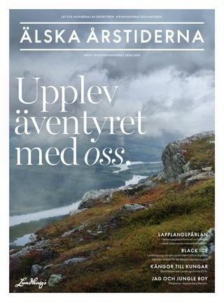 Inspiration för dig som gillar friluftsliv. Höst/vinter 2014-2015.