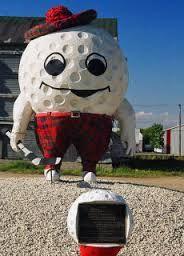 The Big Golf Man, Gilbert Plains