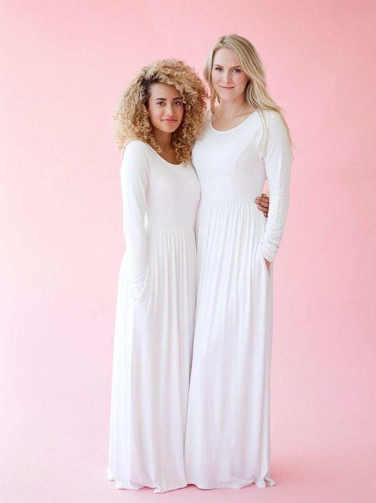 Q.NOOR LDS Temple Dress LIESA dress, size xs