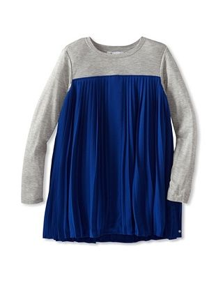 82% OFF A For Apple Girl's Pleated Party Dress (Bright Royal)