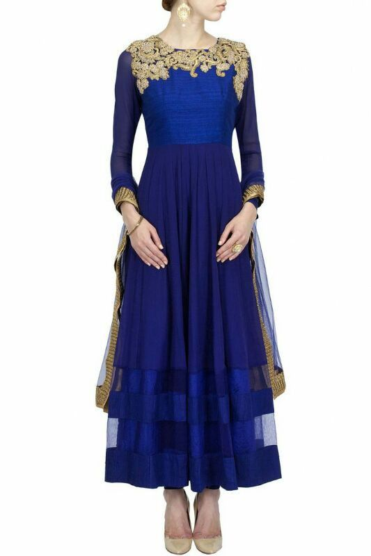 Floor Length Anarkali Bollywood Replica Evening Wear Party Wear Designer outfit