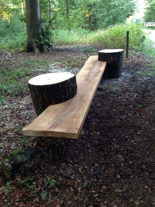 Rustic Bench (no instructions)