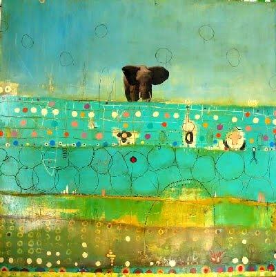 .: Abstract, Yummy Art, Michael Cutlip, Color, Art Inspiration, Artful Elephants, Mixed Media, Inspire, Red Lotus