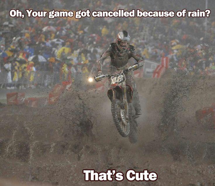 Dirt bikes!!!!!!!thats to all those little jock who think their so tuff cuz their football players...