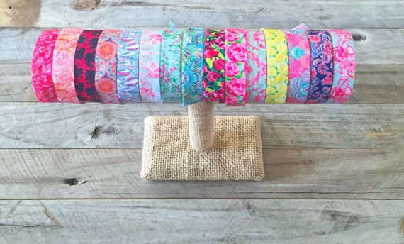 Lilly Pulitzer Elastic Hair Ties CUSTOM ORDER by RUABoutique