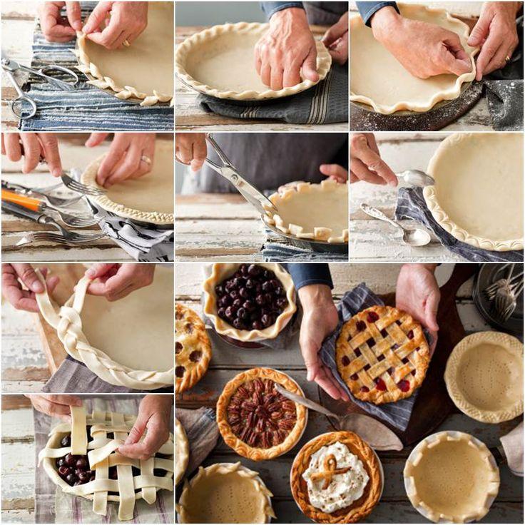 Creative Ideas - DIY Creative Pie Crust Designs | iCreativeIdeas.com Follow Us on Facebook --> https://www.facebook.com/iCreativeIdeas