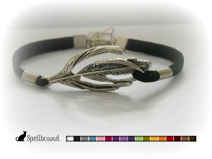 Feather Infinity Bracelet, Friendship Bracelet