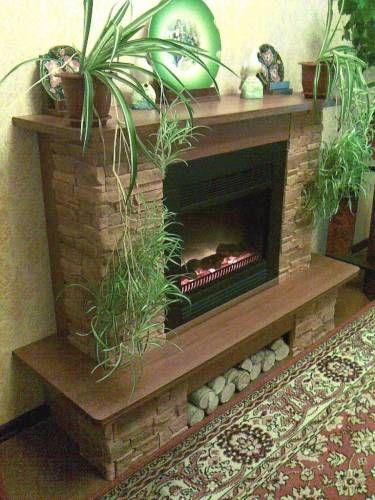 Декоративный камин из гипсокартона: фото из раздела Камин из гипсокартона