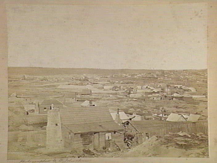Ballaarat [i.e. Ballarat] Flat, Victoria, Australia, 1860. [picture] , State Library of Victoria