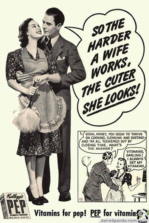 Controversial advertisements from the past via Mamamia