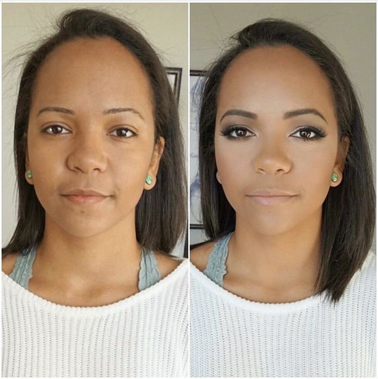 GRADUATION before and after makeup